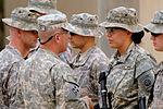 Command Sgt. Maj. Wilson Coins Soldiers in Baghdad, Iraq DVIDS179010.jpg