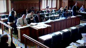 Public bill committee - A public bill committee circa 2012