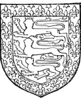 Fig. 710.—Henry de Holand, Duke of Exeter, son of preceding. Arms as preceding. (From his seal, 1455.)