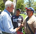 Congressman Miller attends the Rainbow Community Center's 5th Annual Pride on the Plaza (7184707303).jpg