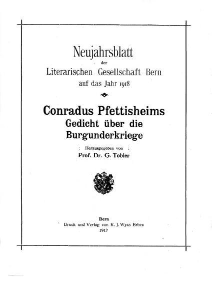 File:Conradus Pfettisheims Gedicht über die Burgunderkriege.djvu