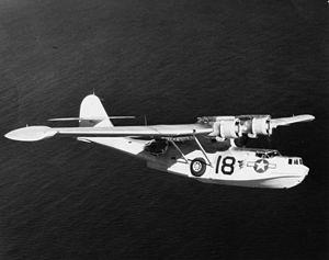 VPB-63 - VPB-63 PBY-5A near Gibraltar