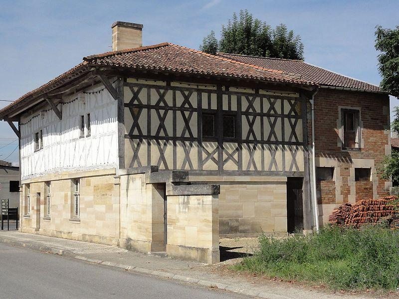 Contrisson (Meuse) maison à pans de bois