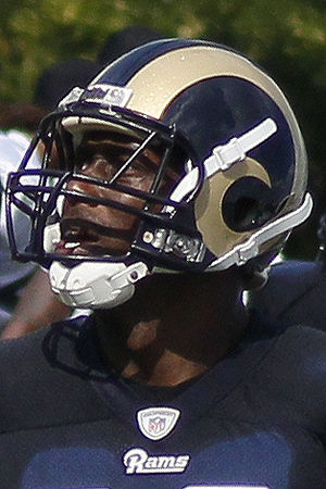 Jared Cook - Cook with the St. Louis Rams in 2013