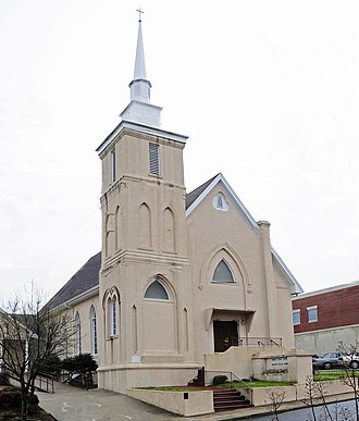 Corinth Baptist Church - Image: Corinth Baptist Church
