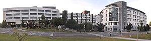Cork University Hospital - Image: Cork university hospital 2017 stitch
