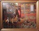 Coronation of Nicholas II by L.Tuxen (1898, Hermitage) FRAME.jpg