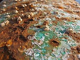 Corrosão em superfície