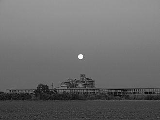 Cortijo Jurado - Full moon over the Cortijo Jurado