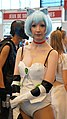 Cosplayer of Rei Ayanami with nekomimi at Japan Expo 20160709b (28301445845).jpg