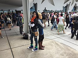 Cosplayers of Android 17 and Android 18, Dragon Ball Z 20150531a.jpg