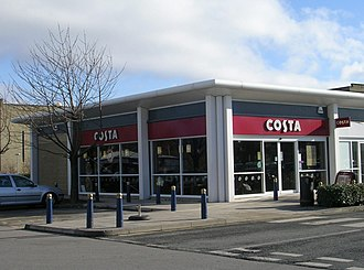 Costa Coffee - A Costa Coffee branch in Forster Square Retail Park, Bradford