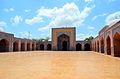 Courtyard of Shah Jahan Mosque.JPG