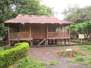 Adi people - A traditional Adi hut