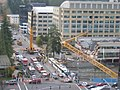 Crane collapse (day after the crane fell down) - Bellevue, Washington.jpg