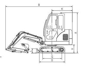 Crawler excavator - Crawler excavator