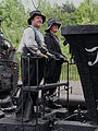Crew of Steam Elephant, Beamish Museum, 12 May 2011.jpg