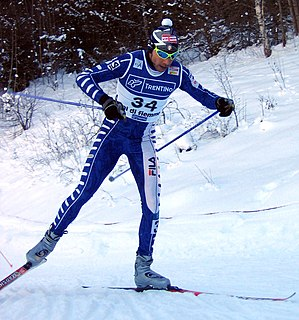 Cristian Zorzi Italian cross-country skier