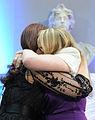 Cristina Fernández de Kirchner hugs Alicia Kirchner.jpg