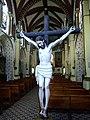 Crucifijo en Iglesia del Carmen en Chiautempan, Tlaxcala.jpg