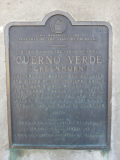 Cuerno Verde Leader of the Comanche in the late 18th century