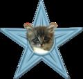 Cute Kitten Barnstar.png