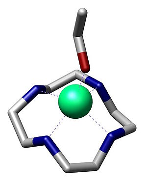 Cyclen - Image: Cyclen Zinc Inorg Chem 1997 4579 commons