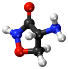 Cycloserine ball-and-stick model.png