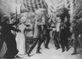 Czolgosz shoots President McKinley with a concealed revolver, at Pan-American Exposition reception, Sept. 6th, 1901.png