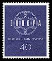DBP 1959 321 Europa 40Pf.jpg
