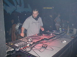 DJ Godfather - DJ Godfather performs at a rave in Springfield Massachusetts.
