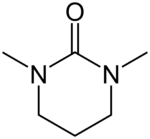 Skeletal formula of DMPU