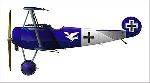 Jagdstaffel 15 - Fokker Dr I of Lt Raben of Jasta 15