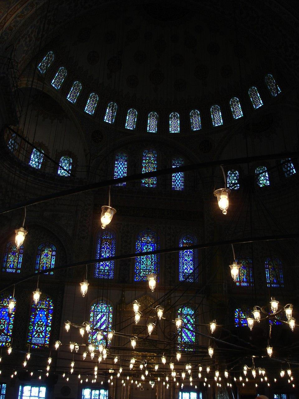 DSC04484 Istanbul - Sultan Ahmet camii (Moschea blu) - Foto G. Dall'Orto 28-5-2006
