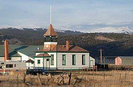 One-room school building in Jefferson, Colorado