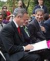DSC 0333 Governor Martin O'Malley and Senator Jamie Raskin (6175916089).jpg