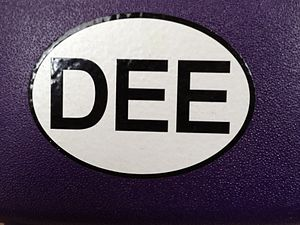 Dee Snider - Radio 104 Dee Snider Euro Sticker