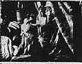 Daguerre, Louis Jacques Mandé - Triptychon für König Ludwig I. von Bayern, der Boulevard du Temple in Paris um acht Uhr morgens, Stilleben mit Gipsabgüssen (Zeno Fotografie).jpg