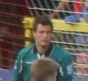 Dale Roberts (footballer, born 1986) - Roberts playing for Rushden & Diamonds in 2010