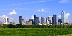 Skyline of Lakanbalen ning Dallas
