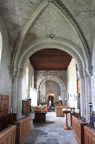Dalmeny - Image: Dalmeny Kirk interior