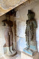 Damaged sculptures at Akkana Basadi.jpg