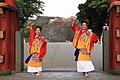 Dancing Sevillanas in Ryukyu (Okinawa) wear.jpg