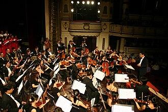 """Đặng Hữu Phúc - Đặng Hữu Phúc conducting HPT Concert 2009, """"Hồn thiêng sông núi"""" """"Holy Land Spirit"""""""