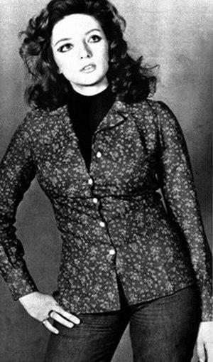Daniela Davoli - Daniela Davoli in Radiocorriere magazine, 1975.