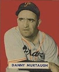 Danny Murtaugh 1949 Bowman