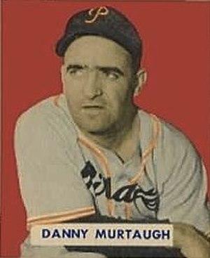 Danny Murtaugh - Murtaugh's 1949 bowman gum baseball card