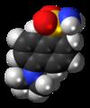 Dansyl amide molecule spacefill.png