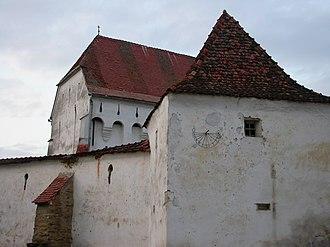 Dârjiu fortified church - Image: Darjiu Ansamblu (2)