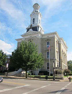 Darke County Court House in Greenville OH - panoramio.jpg